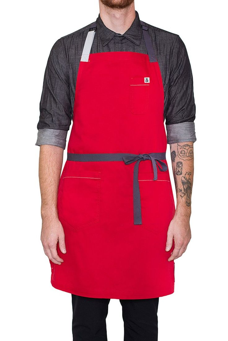 (RED) Apron
