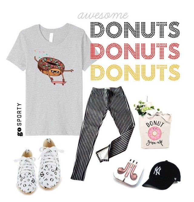 Awesome Donuts - Donut on a Skateboard by familymily on Polyvore featuring , Ralph Lauren, PhunkeeTree, cool, fun, women, woman and fashionset