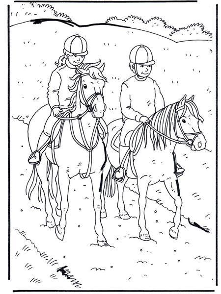 Heste malebøger