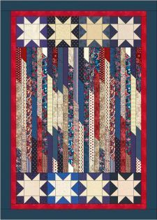Quilt Jubilee by Lisa Sutherland - Patriotic Quilts One of the rate red, White, blue I really like.