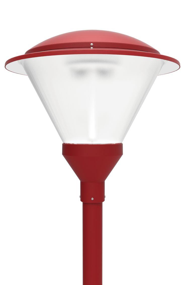 LED Post Top Light LED-PT-642 Series  DukeLight.com/642