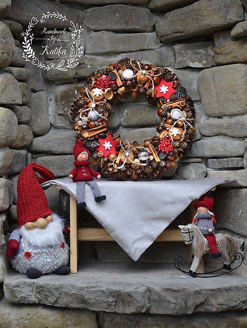 katikaferkova / Vianočný veniec Scandi
