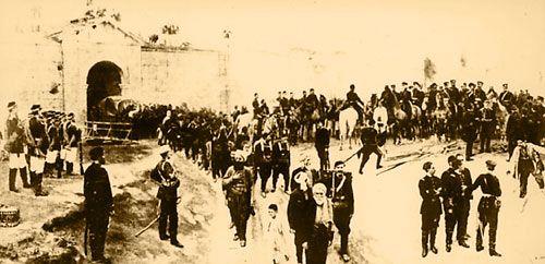 Турските войски предават Никопол