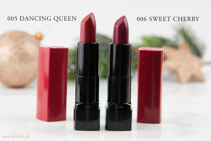 Manhattan - GLAM RED - Christmas Edition Lippenstift