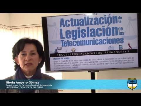 Invitación al Curso de Actualización de la Legislación de las Telecomunicación. Inscripciones Abiertas: http://goo.gl/3xvf49