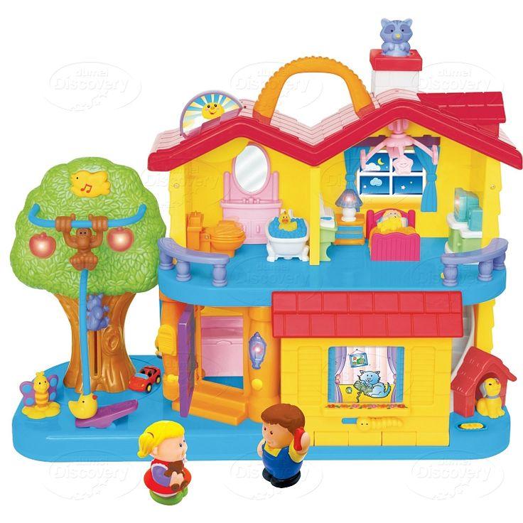 Dumel Discovery, zabawka interaktywna, Odkrywczy domek, 32730