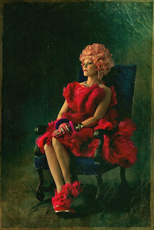 Official Catching Fire character pictures- Effie