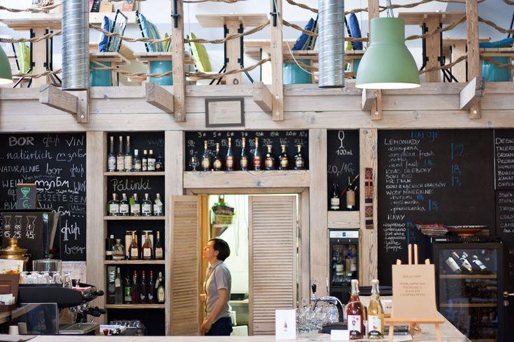 Beautiful, wel designed winery in Krakow, Krakó Slow Wines
