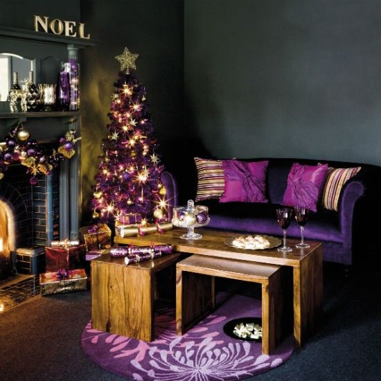 559 best royally purple christmas images on pinterest christmas time noel and purple christmas. Black Bedroom Furniture Sets. Home Design Ideas