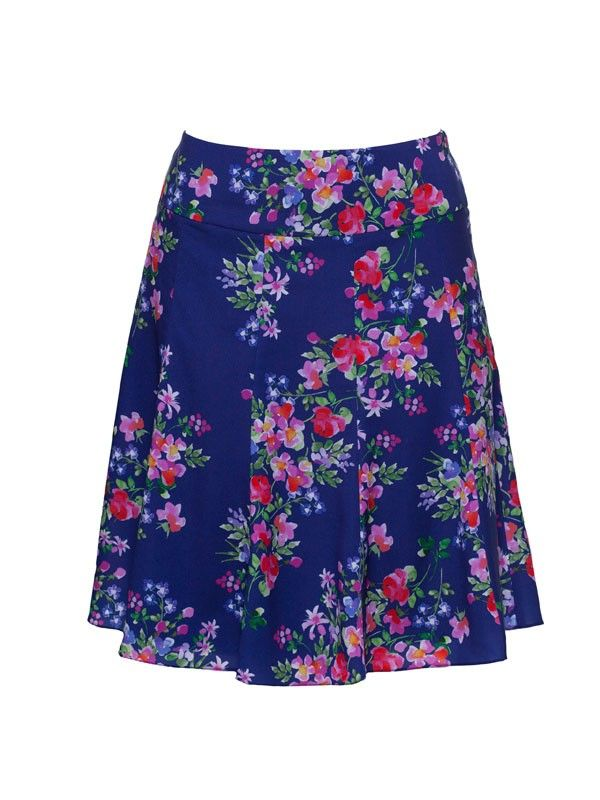 Review Australia | Luciette Skirt Multi - A gorgeous flippy skirt for spring, the Luciette Skirt features a pretty floral print and side zip. Length: 52cm Matches with the apricot colour way.