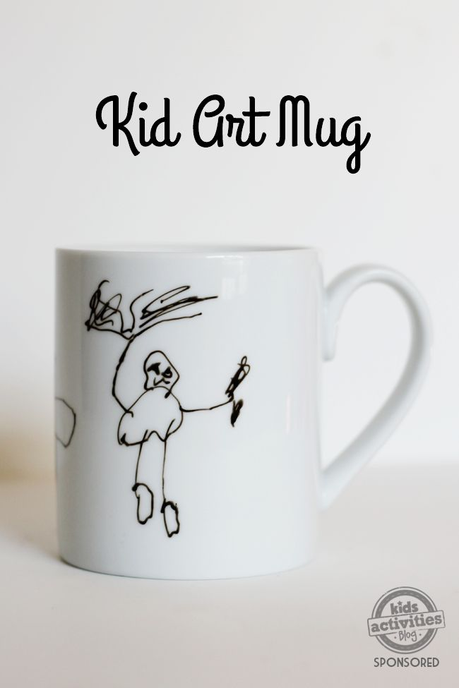 103 best gifts kids can make images on pinterest crafts crafts kid art mug solutioingenieria Choice Image