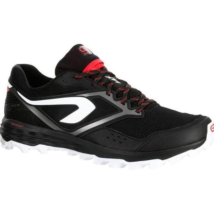 Sepatu Lari Trail Pria Untuk Lari 100k Sangat Nyaman Grip