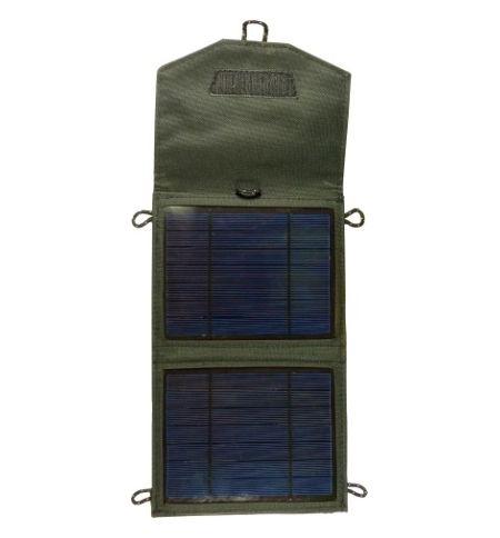 Ηλιακός Φορτιστής Output 3,5W USB 5V & αναπτήρα 12V Πάνελ 5W Tiger