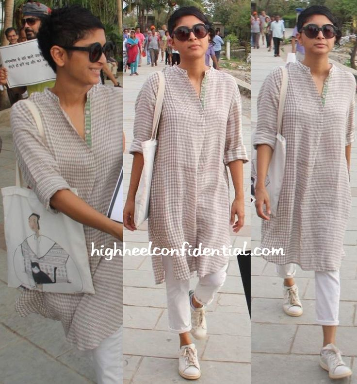 kiran rao-eka-Film and Television Institute of India protest just love this casual look