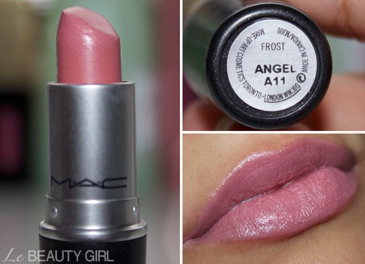 My MAC Lipstick collection (Angel)