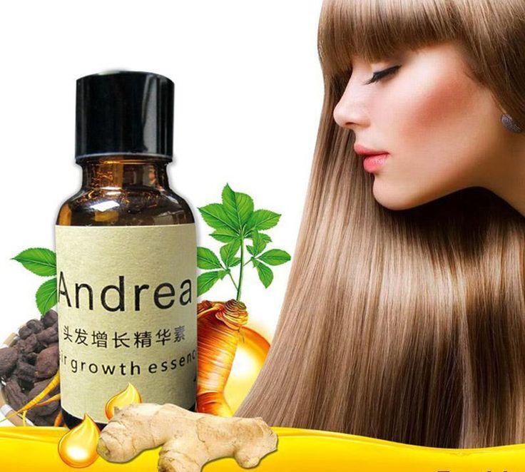 Fast Hair Growth Essence Herbal Andrea alopecia hair loss liquid Ginger shampoo  #Unbranded