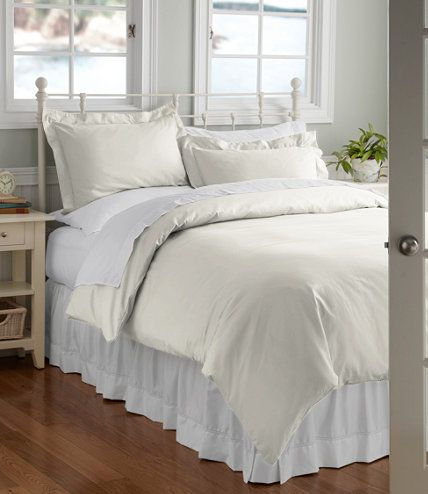 340-Thread-Count Cotton Sateen Comforter Cover: Comforter Covers | Free Shipping at L.L.Bean