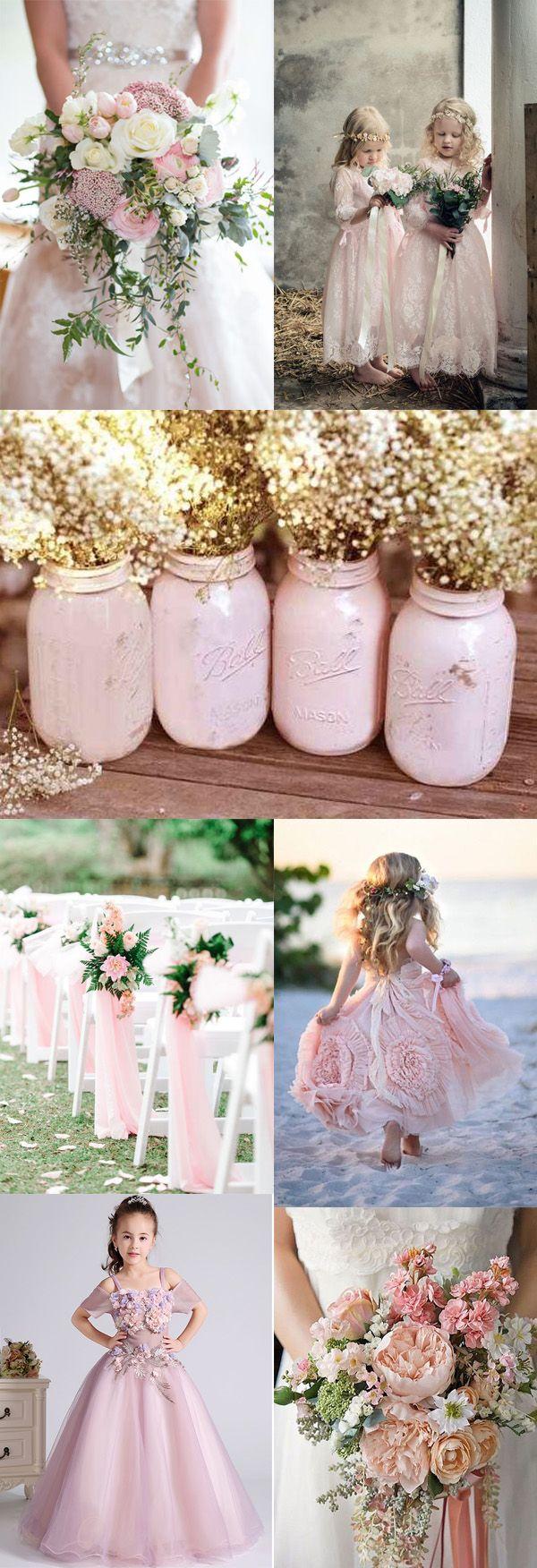 Material:Tulle Embellishments:Flowers  #flowergirl #dress #wedding #weddingdress #pink #weddingbouquet
