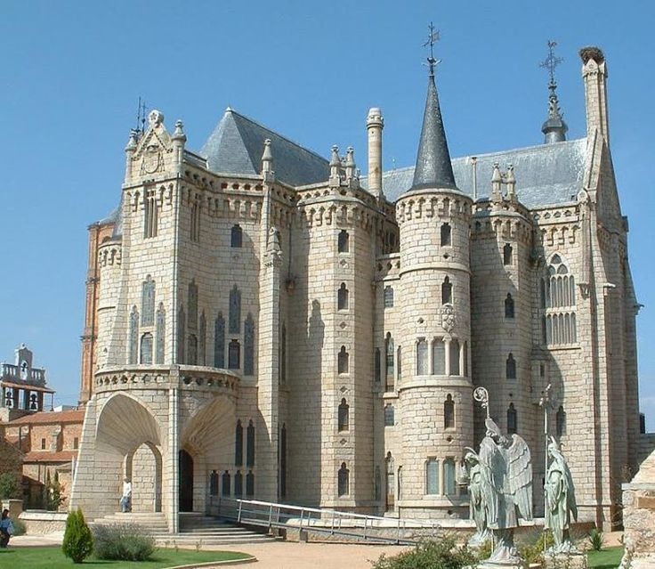 GAUDÍ, El palacio episcopal de Astorga (León), 1889-1915