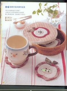 FELTRO MOLDES ARTESANATO EM GERAL: Crafts Ideas, Cute Ideas, Appliqué Coasters, Apples Patterns, Apples Coasters, Apples Appliqué, Crafts Diverso, Ems Geral, Crafts Ems