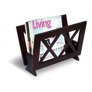 Coaster Cappuccino Transitional Magazine Rack