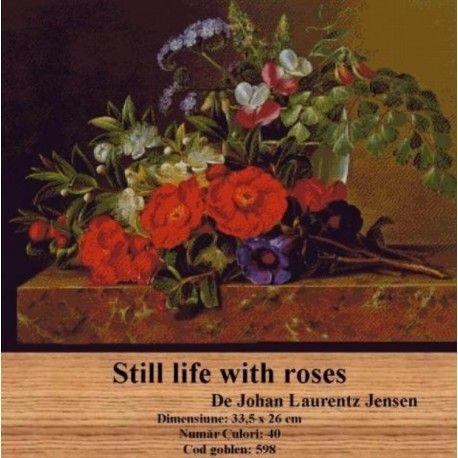 Model set goblen Still life with roses http://set-goblen.ro/flori/3876-still-life-with-roses.html