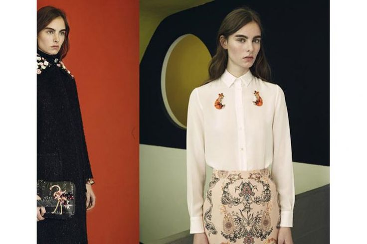 RARY, techno craftsmanship with 3D handmade embroideries
