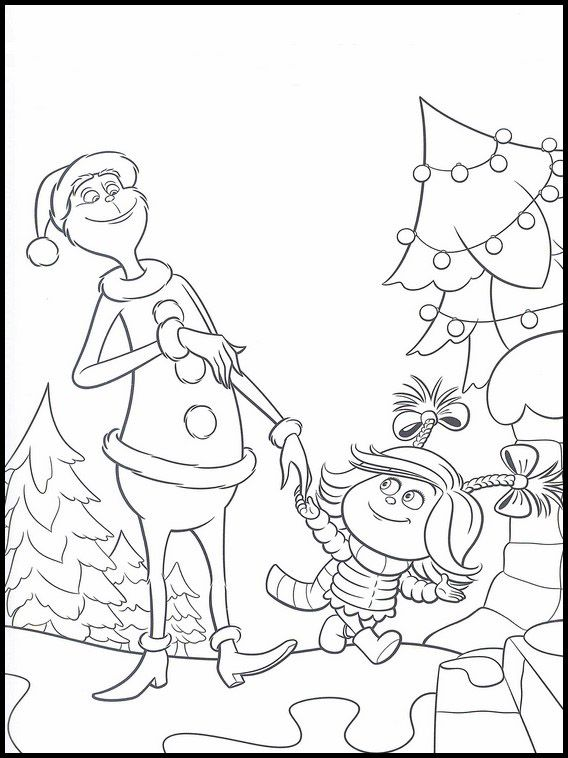 The Grinch Coloring Pages 9 Grinch Coloring Pages Christmas Coloring Books Christmas Coloring Sheets