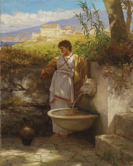 Henryk Siemiradzki, Am Brunnen