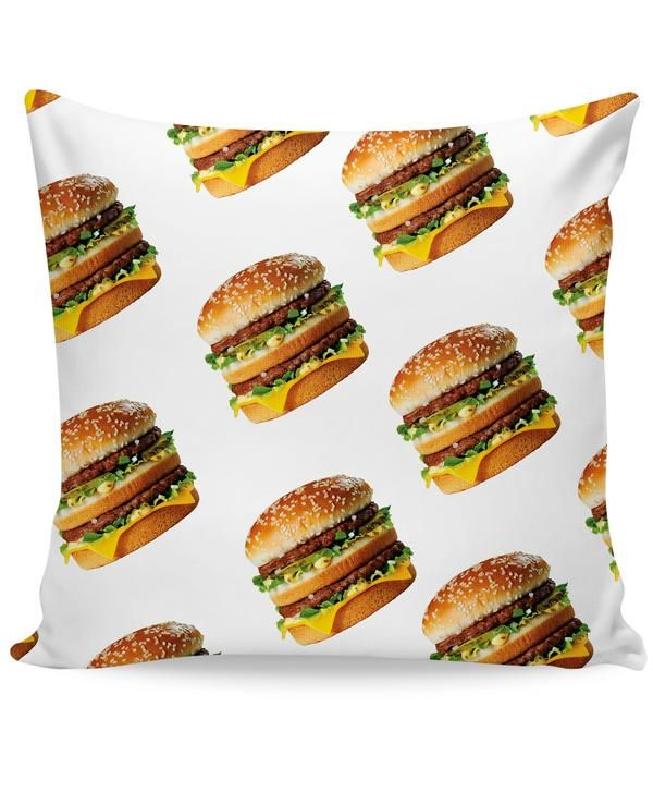 Check out this vibrant Big Mac Couch Pillow inspired by the new McDonalds all-over print collection! This fully-sublimated throw pillow from our Let's Rage bran