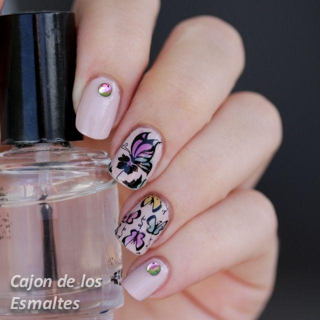 Decoración de uñas con Mariposas - Colaboración con Bornpretty Store
