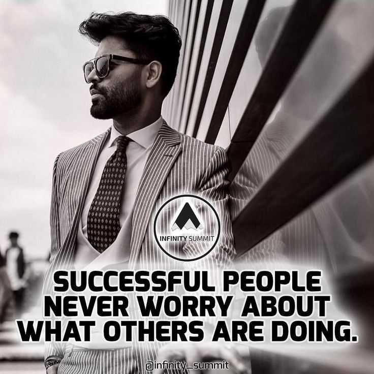 Don't worry about what others are doing focus on YOUR goals. Double  TAP  if you agree & follow @Infinity_Summit. #hustle #motivation #inspiration .  Photo by respective owner.