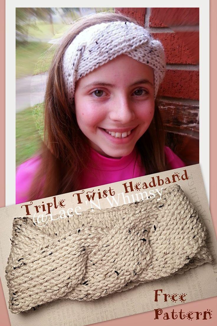 127 best headbands images on pinterest | crochet patterns, fabric