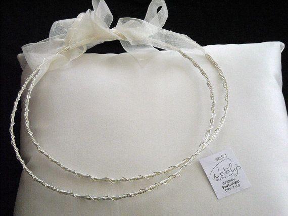 Classic Silver Plated Stefana, $126.00 at the Greek Wedding Shop ~ http://www.greekweddingshop.com/