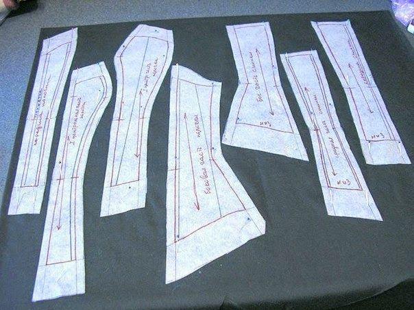TUTORIAL DE CORPETE/ESPARTILHO | Cortes e Costura