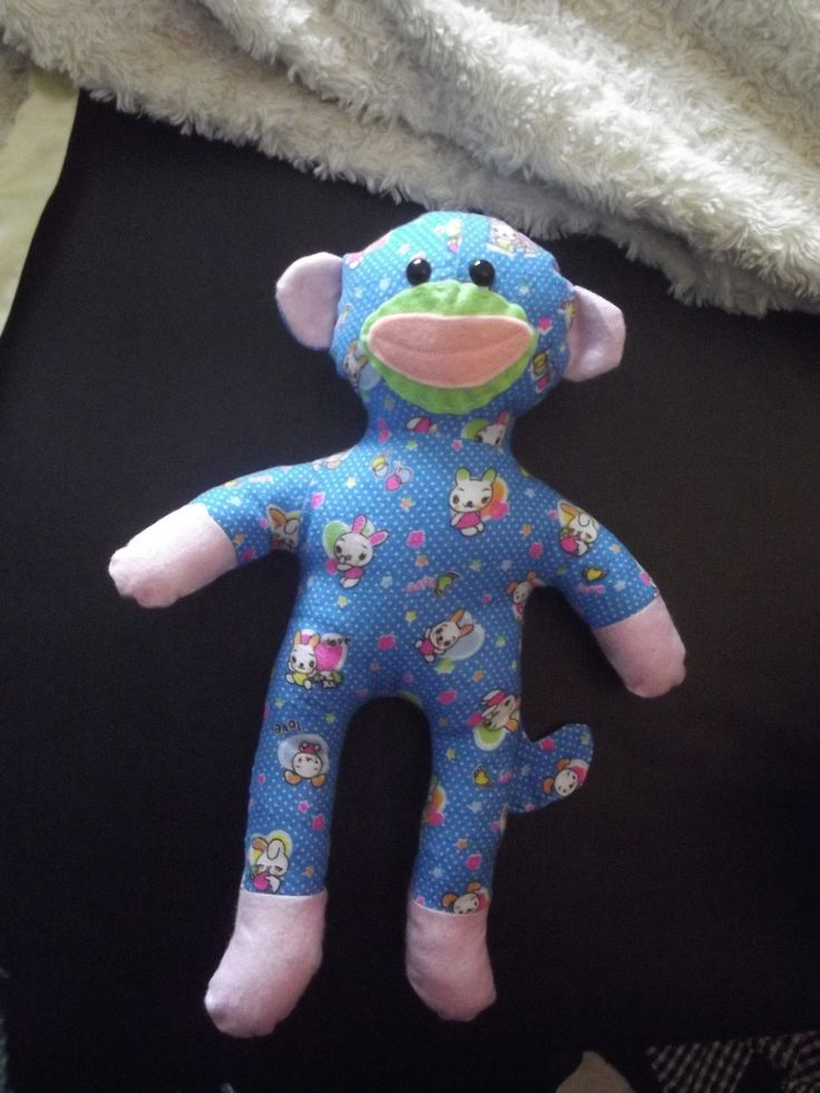The Non-Sock Sock Monkey from Pauline at the Funky Friends Factory!