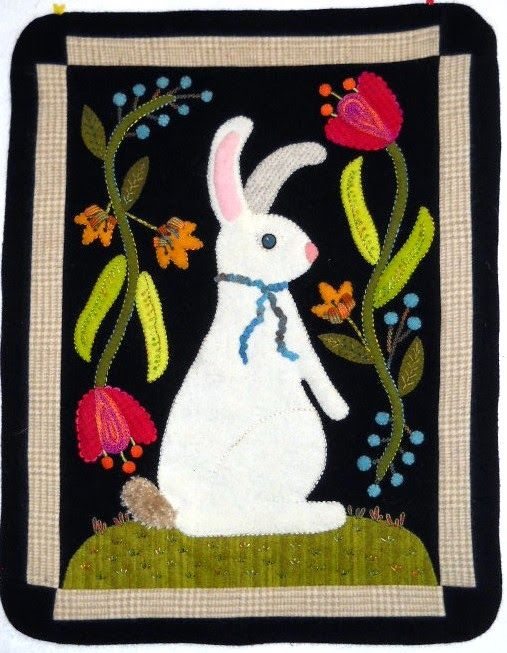 214 Best Applique Easter 3 Images On Pinterest Rabbits