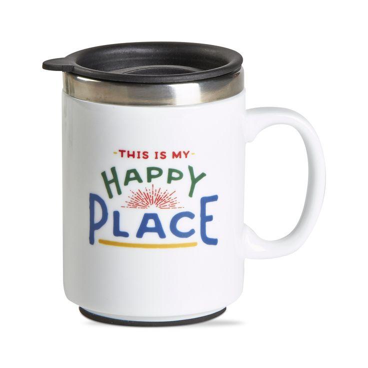 Happy Place Insulated Travel Mug