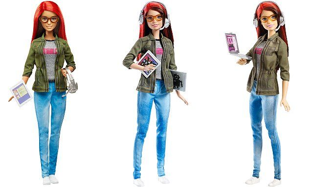 Game Developer Barbie to inspire a new generation of women