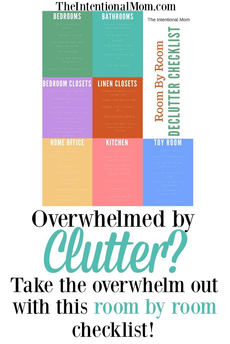 Feeling overwhelmed by clutter? Are you wanting to just get rid of some of your stuff but have no idea where to start? With this room by room guide, you not only get some simple things to declutter, but you also get permission to JUST GET STARTED!