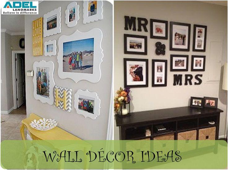 Big wall can be the perfect canvas for creative decor ideas. #homedecor #beautifulwalls #DIY #creativity #walldecor #adellandmarks #adellandmarkslimited