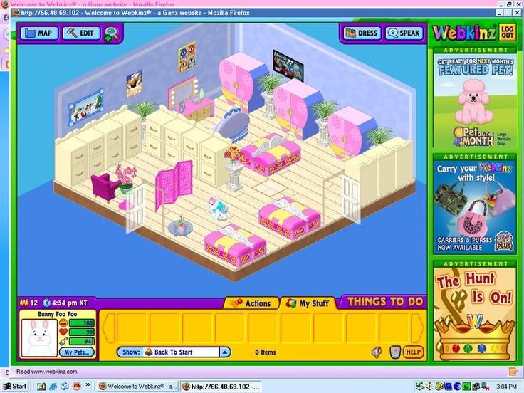 29 best webkinz rooms images on pinterest childhood