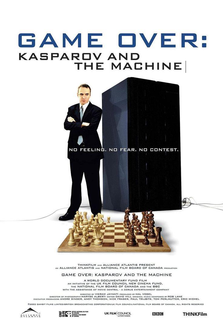 Game Over: Kasparov and the Machine: 2003 Documentaries, Chess Anion, Chess Players, Chess Cine, Chess Plays Computers, Machine 2003, 2003 Chess, Chess Photography, Chess Magazines