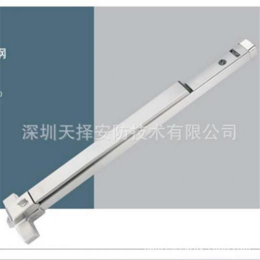Emergency Single Leaf Stainless Steel Rim Panic Door Touch Push Bar Exit Device