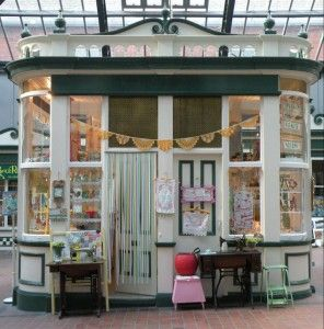 The cutest studio in the world? The Button Tin, Rotherham, South Yorkshire, UK