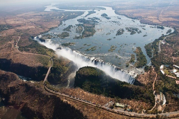 Victoria Falls from above- just amazing!