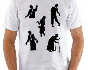 Camiseta The Walking dead - Zumbis