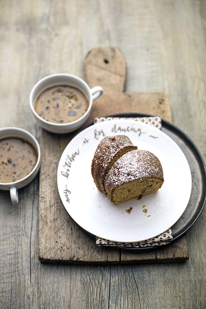 pane&burro: Facciamo colazione? Ciambella al farro con zuccher...