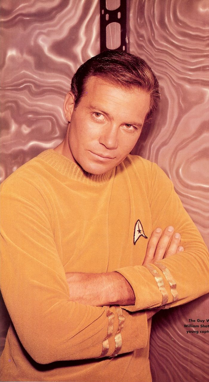 "William Shatner 1965 ""Where no man has gone before""  Ok, I grew up with James T. Kirk and he is handsome as ever!!!"