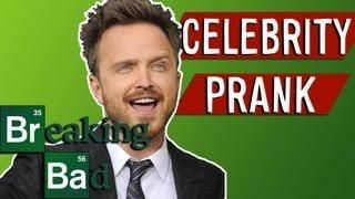 Aaron Paul From Breaking Bad Phone Call #Prank - #funny